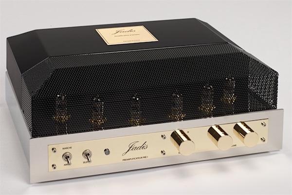 Jadis - Pre 1 gebalanceerde buizen voorversterker