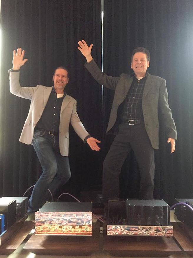 Mark en Jesper bij Audio21