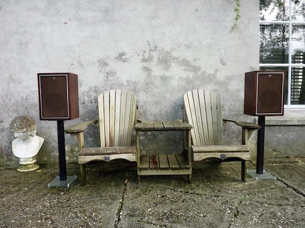 Sharp speaker - horn