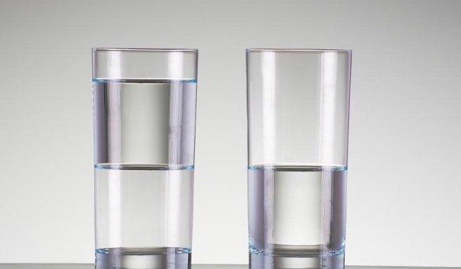 Het glas is halfvol…