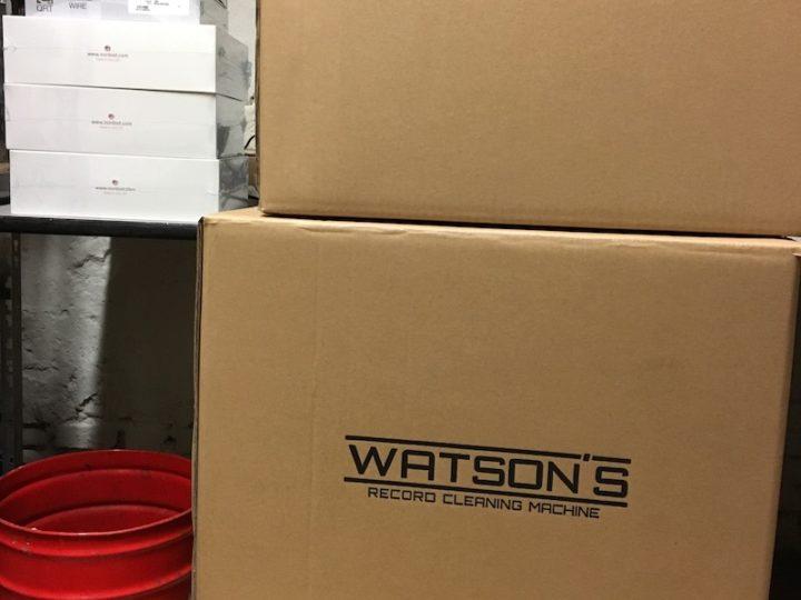 Watson's platenwasmachine