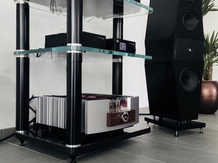 BCD audiorack high end, nu ook in zwart