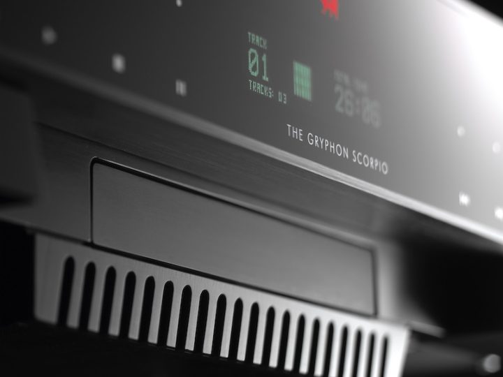 Gryphon CD speler