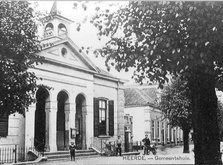 Nieuws uit 1884: bouw gemeentehuis Heerde