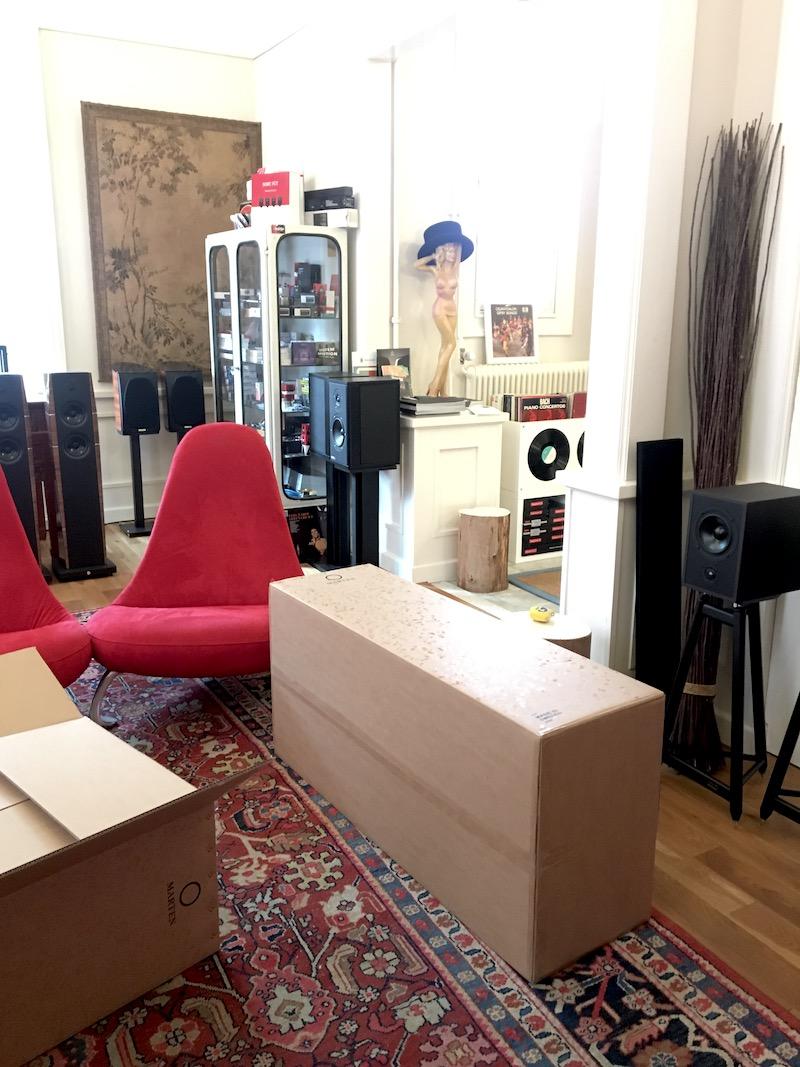 Marten luidsprekers bij AUDIO21 in Heerde