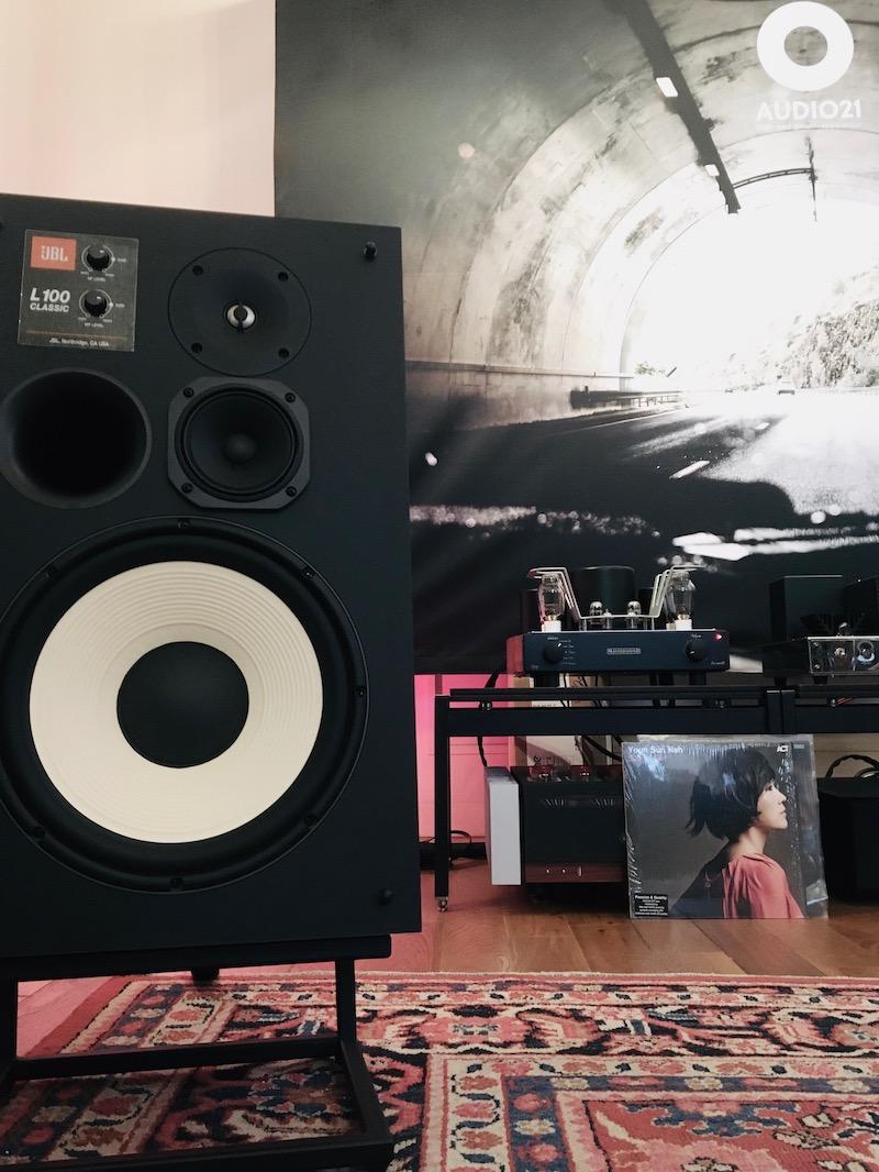 JBL L100 Classic & MastersounD Evo 300B bij AUDIO21