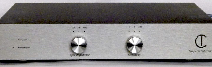 Nieuws: Temporal Coherence phonoversterker