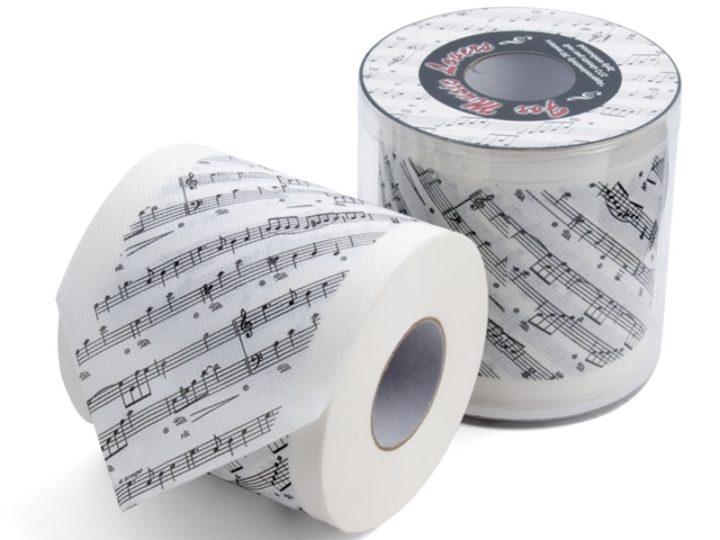 Toiletpapier #1: Zit er muziek in?