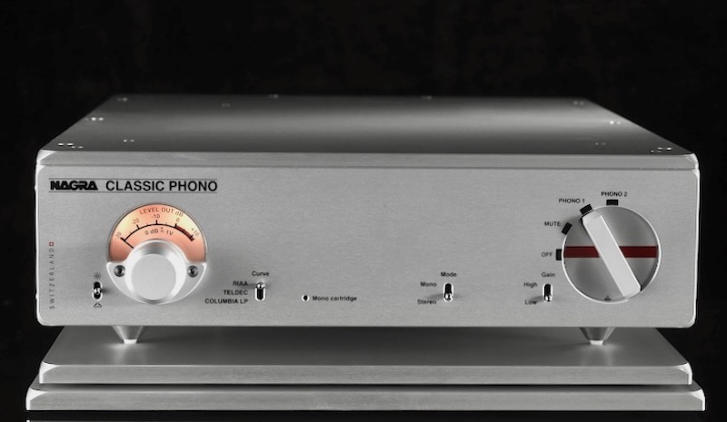 Nagra phonoversterker bij AUDIO21